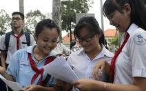TP.HCM công bố đáp án các môn thi tuyển sinh 10
