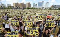 65.000 ngườiNhật biểu tình phản đối lính Mỹ ở Okinawa