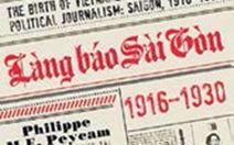 Những sự kiện làng báo Sài Gòn xưa