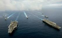 Tàu sân bay Mỹ tuần tra Tây Thái Bình Dương ủng hộ PCA