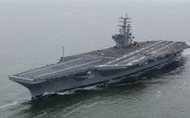 Mỹ đưa hai tàu sân bay tập trận trên biển Philippines