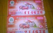 Kháng nghị, buộc trả thưởng cả 2 tờ vé số bị mất trộm