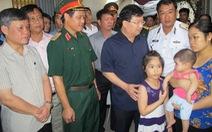 Phó thủ tướng thăm hỏi gia đình quân nhân trên CASA-212 gặp nạn
