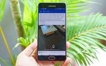 Dẫn đầu 3 trào lưu hot trong 3 phút với Galaxy A7 2016