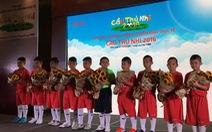 Công Vinh, Bình Minh,Diệp Lâm Anh đi tìm Cầu thủ nhí