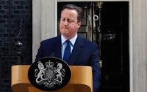 Thủ tướng Anh từ chức sau khi dân Anh chọn rời EU