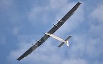 Máy bay bằng năng lượng mặt trời bay xuyên Đại Tây Dương