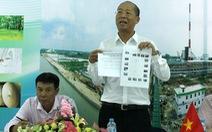 Bộ Công thương yêu cầu báo cáo về dự án nhà máy giấy