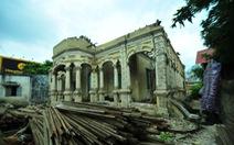 Sài Gòn mất thêm biệt thự cổtuổi đời gần trăm năm