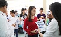 286.000 thí sinh dự thi THPT quốc giachỉ để xét tốt nghiệp