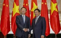 Gặp gỡ Việt - Trung: Không làm phức tạp tình hình ở Biển Đông