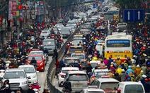 Học Trung Quốc cấm xe máy ngoại tỉnh vào nội đô Hà Nội