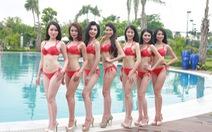 Thí sinh Hoa hậu bản sắc Việt đốt nóng mùa hè với bikini
