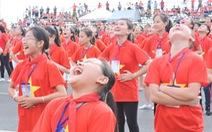 Hơn 3.000 em nhỏ thiết lập 2 kỷ lục Việt Nam