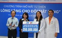 MB phối hợp cùng Bệnh viện mắt TP HCM mổ mắt miễn phí