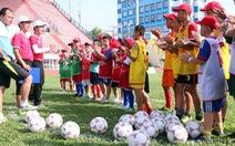 Sôi động Trại hè bóng đá thiếu niên Toyota 2016