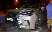 """Giám đốc doanh nghiệp lái Lexus biển số """"VIP"""" tông loạn xạ"""
