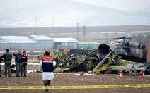 Rơi trực thăng chở tướng, tá quân đội Thổ Nhĩ Kỳ, 7 người chết