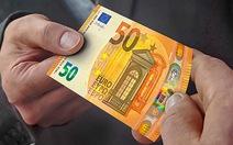 EU ra mắt tiền giấy mệnh giá 50 euro mới