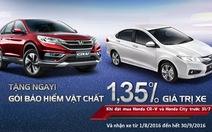 Honda City sở hữu mức giá trong mơ từ 1-7-2016