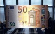 EU ra mắt tờ tiền giấy 50 euro mới