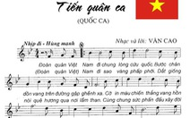 Gia đình nhạc sĩ Văn Cao hiến tặng ca khúc Tiến quân ca