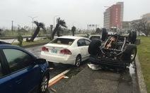 Siêu bãoNepartak đổ bộ, Đài Loan mưa như trút nước