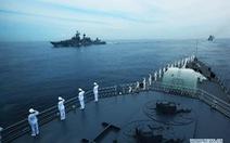 Trung Quốc điều ba hạm đội đến Hoàng Sa tập trận