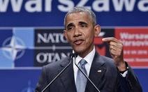 """Tổng thống Obama: """"Nước Mỹ giận dữ, bối rối nhưng không chia rẽ"""""""
