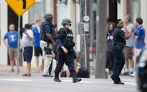 Phong tỏa trụ sở cảnh sát Dallas vì bị đe dọa