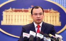 Việt Nam hoan nghênh Tòa ra phán quyết vụ Philippines kiện Trung Quốc