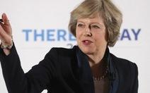 Công bố bà Theresa May làm thủ tướng Anh, bảng Anh tăng lại
