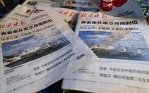 Trung Quốc tuyên bố có quyền lập vùng nhận dạng phòng không ADIZ