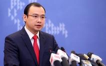 Việt Nam yêu cầu Trung Quốc bồi thường thỏa đáng vụ đâm chìm tàu cá