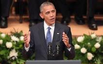"""Obama: """"Tôi nhìn thấy những lời nói thiếu sót của mình tác động ra sao"""""""
