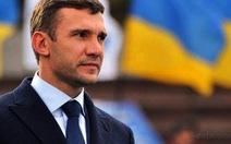 Shevchenko dẫn dắt đội tuyển Ukraine