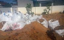 Formosa chôn chất thải ởkhu dân cư