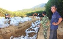 Formosa đổ lỗi cho công ty môi trường chôn 100 tấn chất thải