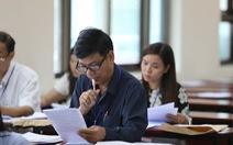 Nhiều trường sẽ công bố điểm thi ngày 19-7