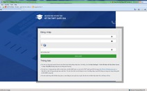 Xuất hiện trang web giả mạo phục vụ kỳ thi THPT Quốc gia