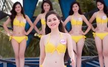 Xem thí sinh hoa hậuViệt Nam thi bikini