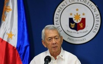 Philippines từ chối đối thoại có điều kiện với Trung Quốc