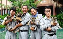 """Nhiều """"công dân"""" mới ở Safari Phú Quốc"""
