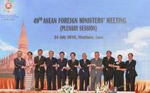 Hội nghị ngoại trưởng ASEAN lần thứ 49: Dấu hỏi về Biển Đông