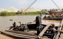 3 địa phương phối hợp trong việc xử lý khai thác cát sỏi trái phép