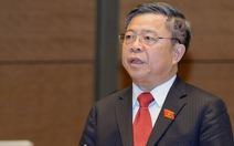 Cần bãi nhiệm tư cách đại biểu Quốc hội ông Võ Kim Cự
