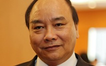 Giới thiệu Thủ tướng Nguyễn Xuân Phúc tái cử
