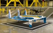 Amazon thử nghiệm giao hàng bằng drone tại Anh