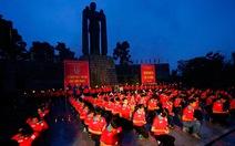 Tuổi trẻ TP.HCM thắp nến tri ân các anh hùng liệt sĩ