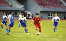 Tuyển nữ VN thắng Singapore 14-0